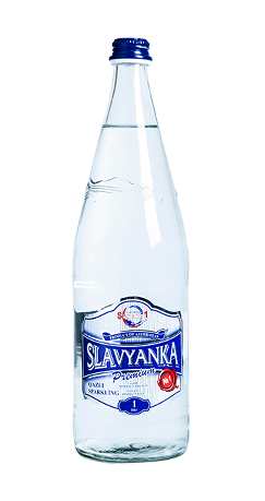 sparkling water 1L Glass bottle